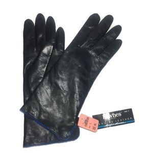 ✨ Fownes ✨ NWT Black Leather Gloves